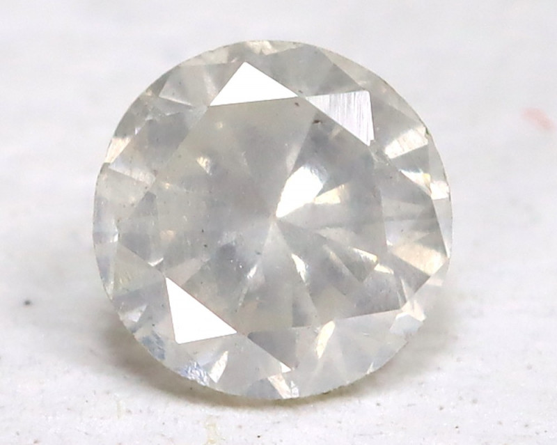 White Diamond 0.15Ct Natural Untreated Fancy Dimond AB1688