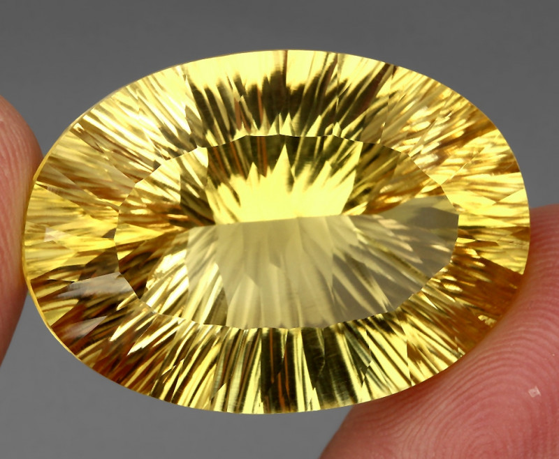 61.46 ct. Top Quality Natural Earth Mined Golden Yellow Citrine Brazil