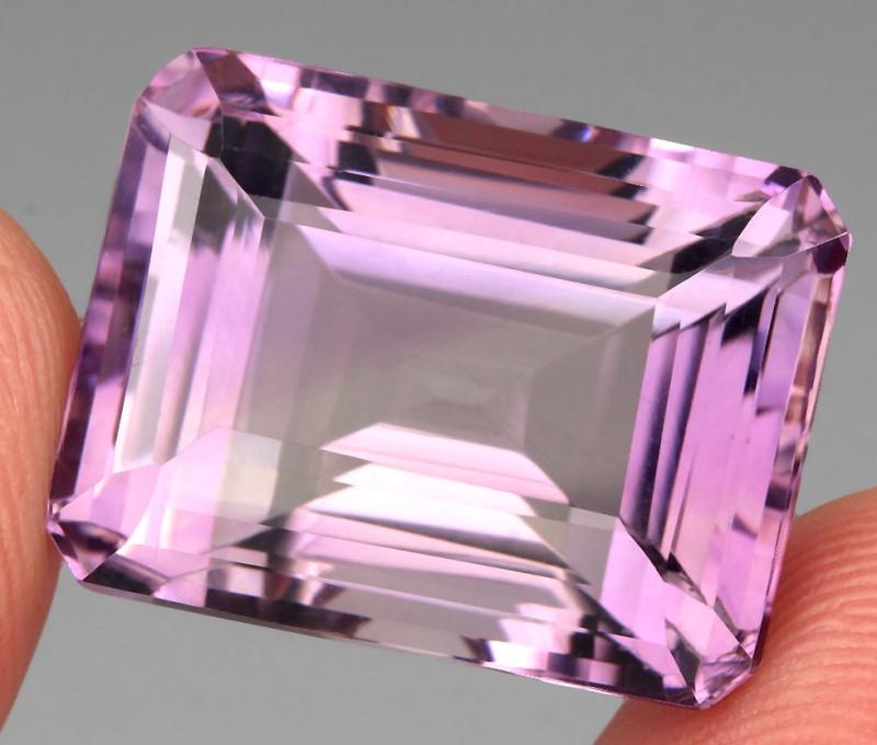 35.44 ct 100% Natural Earth Mined Unheated Purple Amethyst, Uruguay