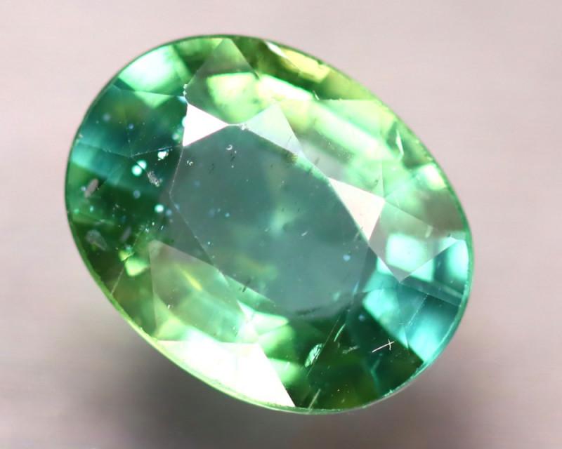 Apatite 1.87Ct Natural Paraiba Green Color Apatite D2513/B44