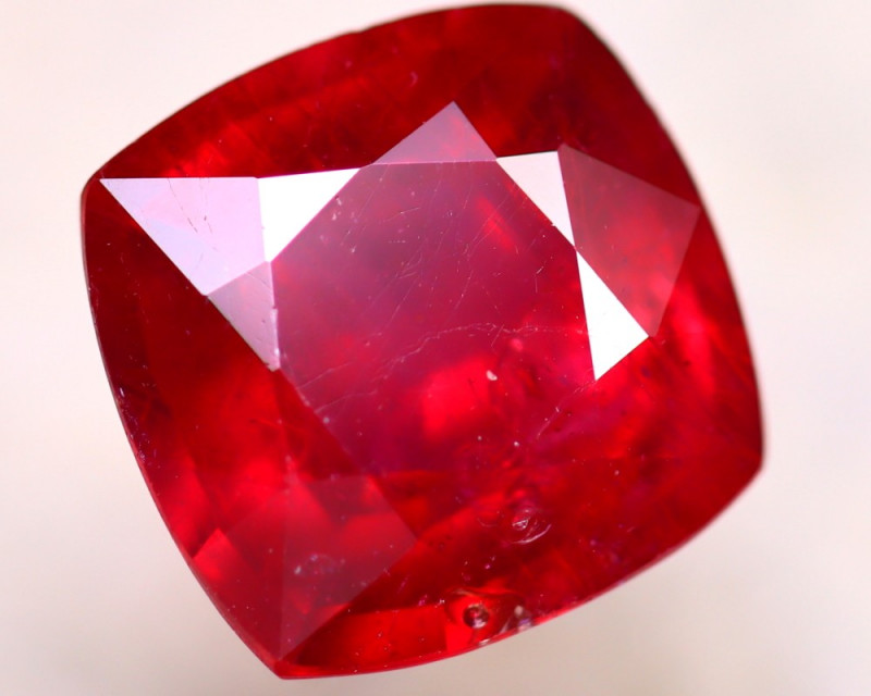 Ruby 3.76Ct Madagascar Blood Red Ruby D2517/A20