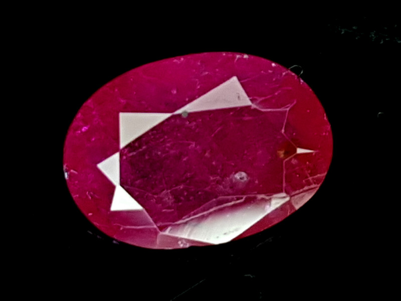 0.74CT NATURAL RUBY HEAT ONLY IGCMR37