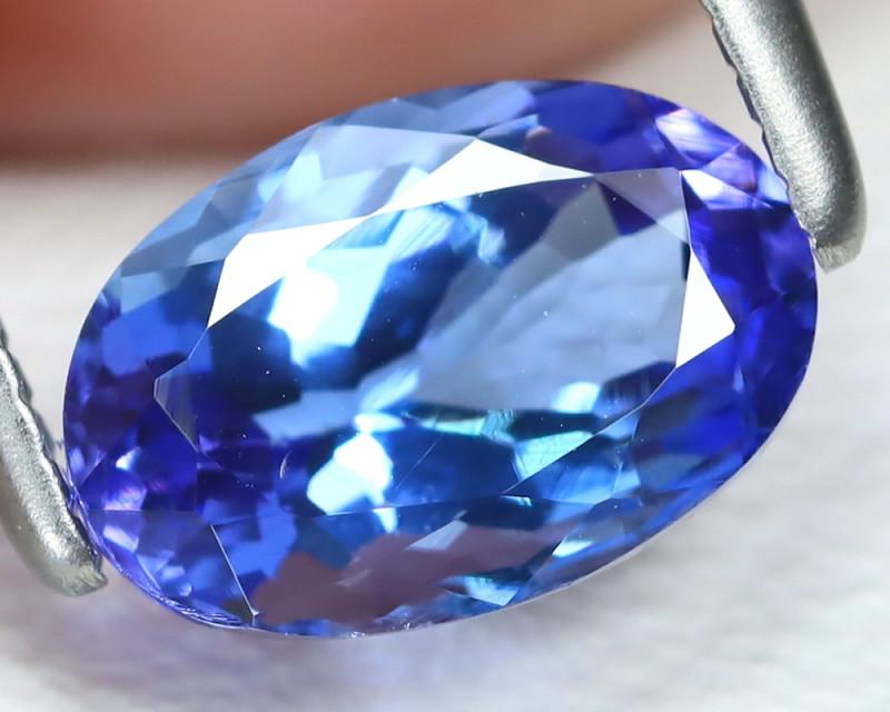 Tanzanite 1.19Ct VS2 Oval Cut Natural Purplish Blue Tanzanite B2322