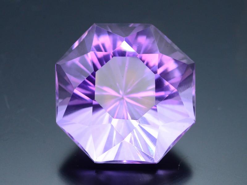Rich Purple 34.70 Ct Natural Laser Cut Amethyst ~ Nigeria ! G111 !