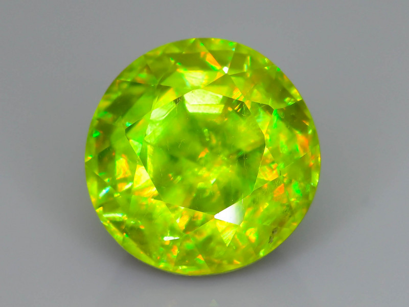 Rare AAA Fire 3.94  ct Sphene Sku-62