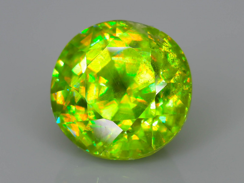 Rare AAA Fire 3.02 ct Sphene Sku-62