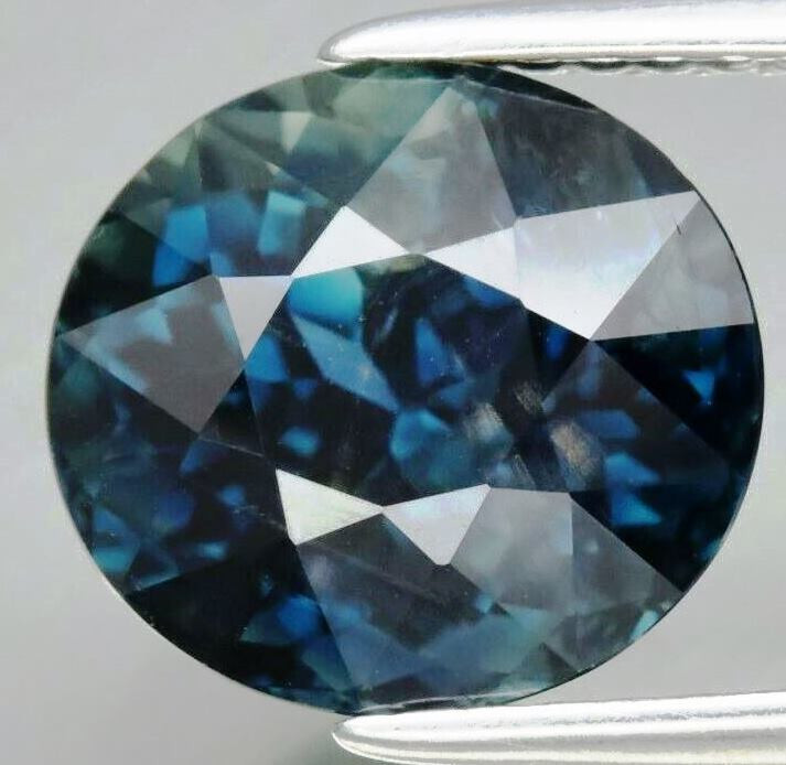4.17  ct. Natural Earth Mined Sapphire Australia -ALGT Certificate
