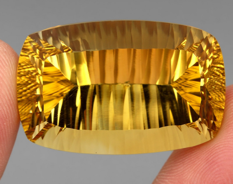 88.65 ct. Top Quality Natural Earth Mined Golden Yellow Citrine Brazil