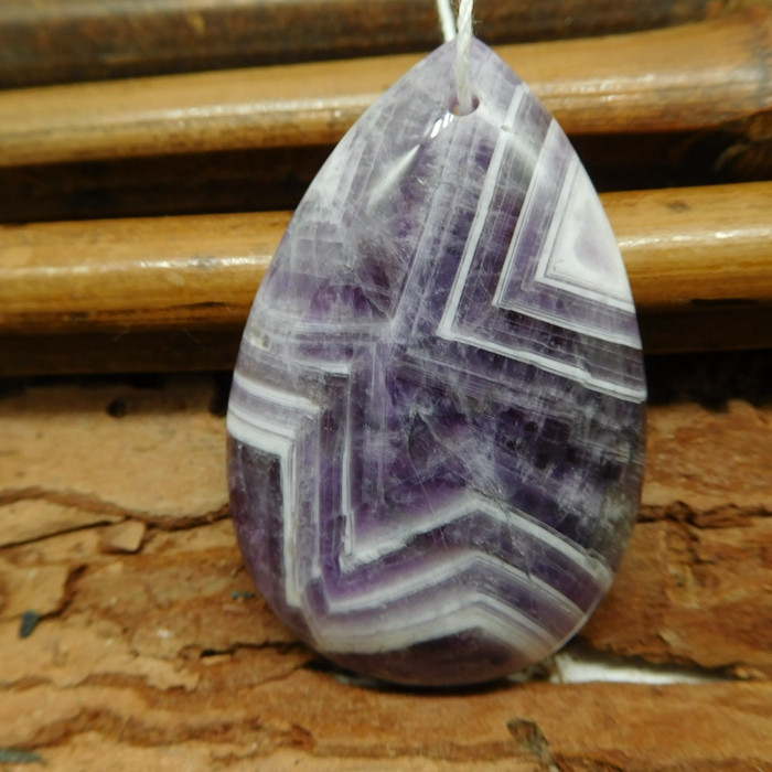 Purple amethyst pendant (G2421)