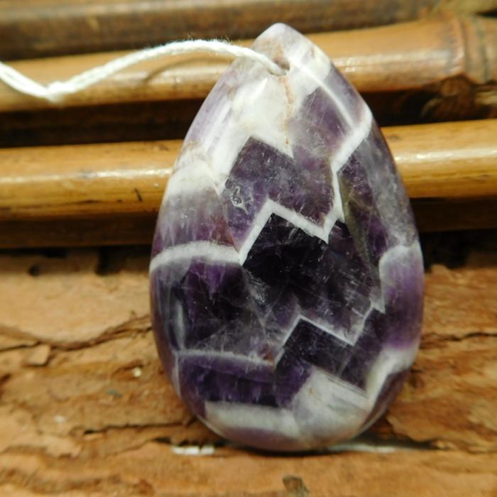 Natural gemstone amethyst pendant (G2422)