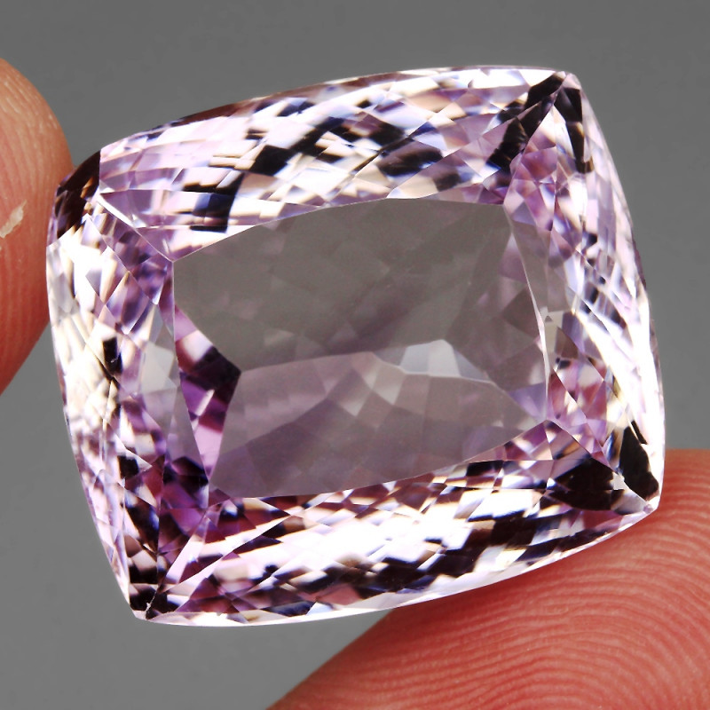 Big Size Clean 60.69 Ct.  Natural Earth Mined Pink Amethyst Unheated