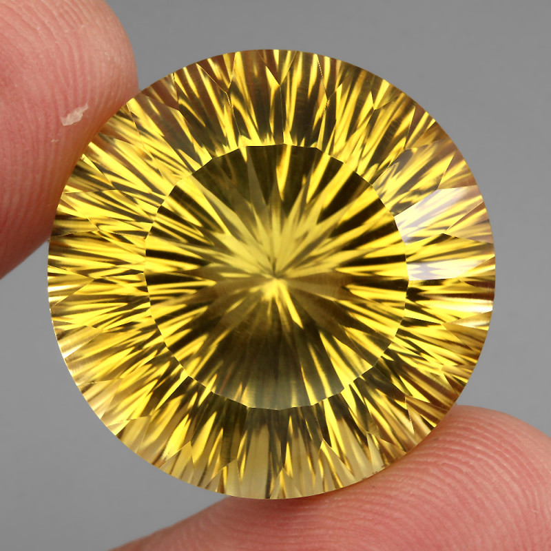 52.98 ct. 100% Natural Unheated Top Quality Yellow Golden Citrine Brazil