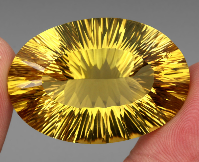 79.23 ct. Top Quality Natural Golden Yellow Citrine Brazil Unheated