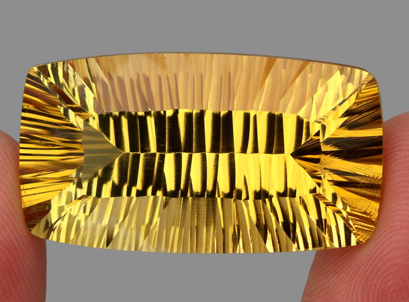 58.59 ct. Top Quality Natural Golden Yellow Citrine Brazil Unheated