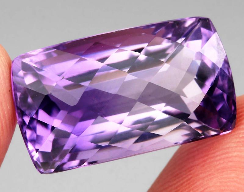 29.23 ct 100% Natural Earth Mined Unheated Purple Amethyst, Uruguay