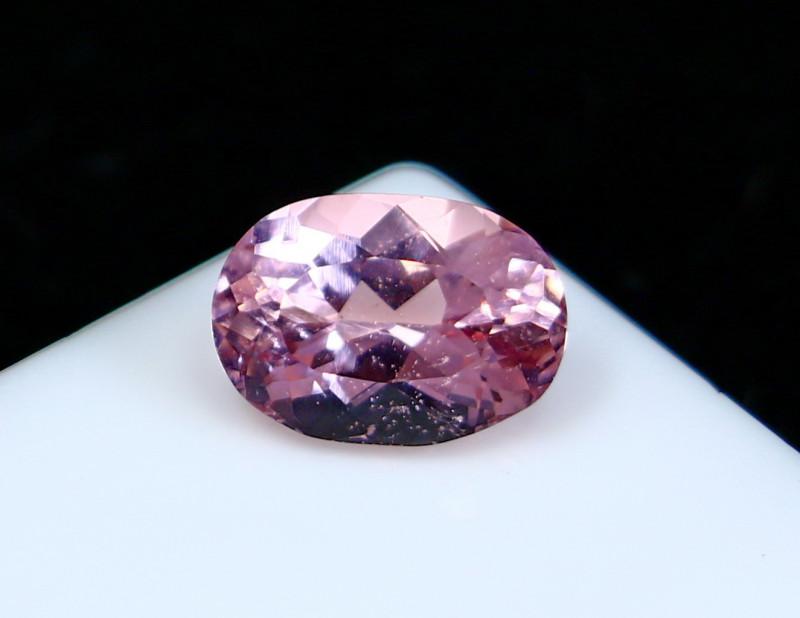 1.58 Cts~ IGI-Certified- Pink Morganite Gemstone