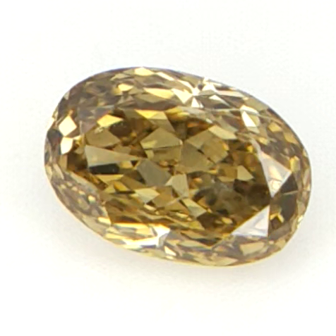 0.11 cts , Clean Diamond , Natural Oval Brilliant Cut