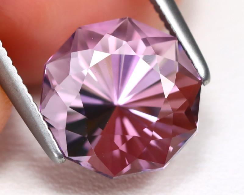 Amethyst 2.78Ct VVS Fancy Cut Natural Bolivian Purple Amethyst B2732