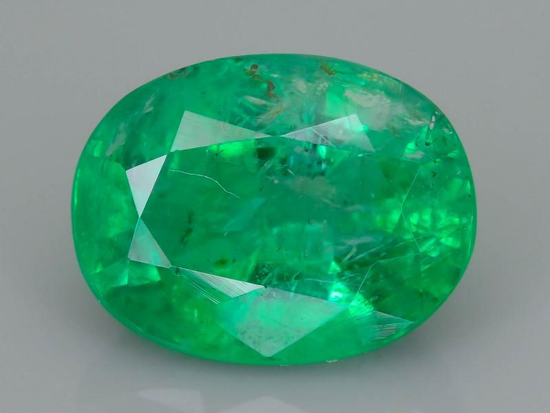 Good Clarity  1.41 ct Emerald Zambian Mine  SKU-36