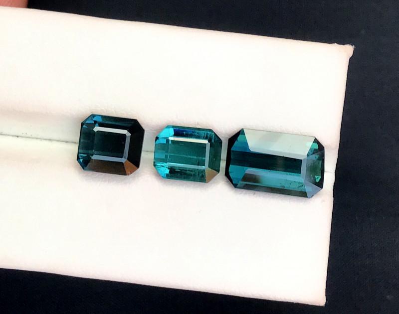 9.95 Carats Natural indicolite tourmaline Gemstones