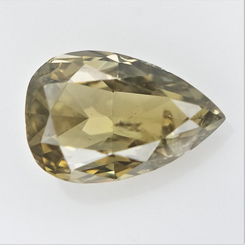 0.10 cts , Elongated Pear Brilliant Cut Diamond , Diamond For Jewelry