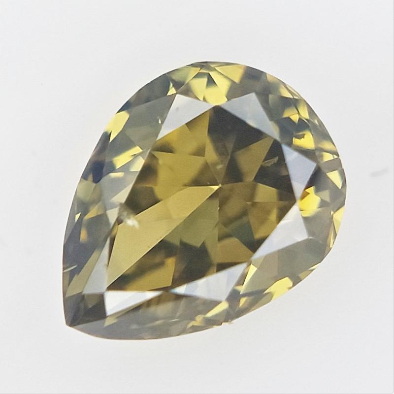 0.11 cts , Pear Brilliant Cut Diamond , Diamond For Jewelry