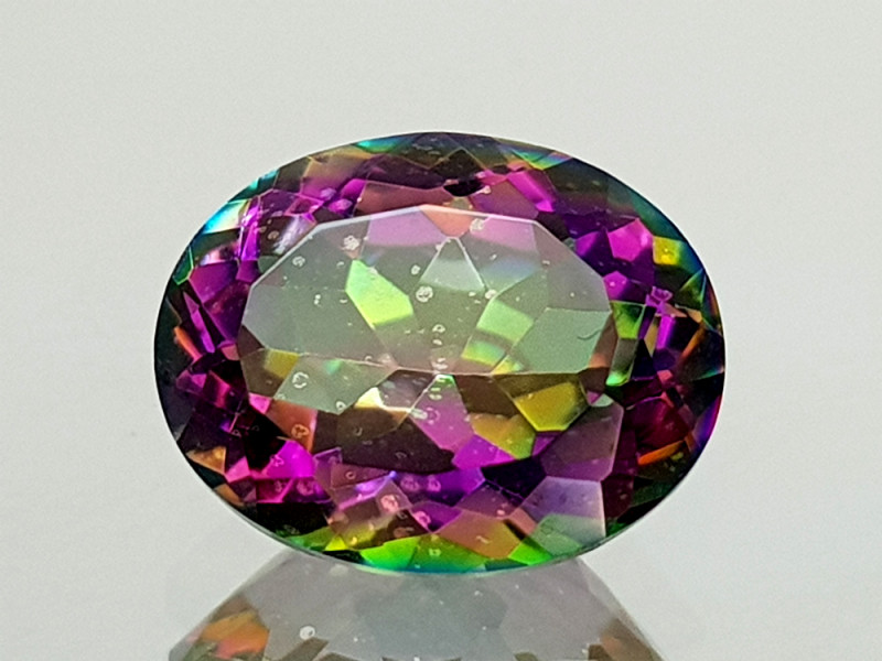 2.35Crt Mystic Quartz Natural Gemstones JI28