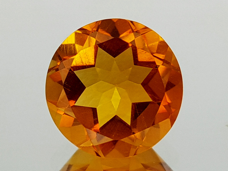 1.79Crt Madeira Citrine Natural Gemstones JI28
