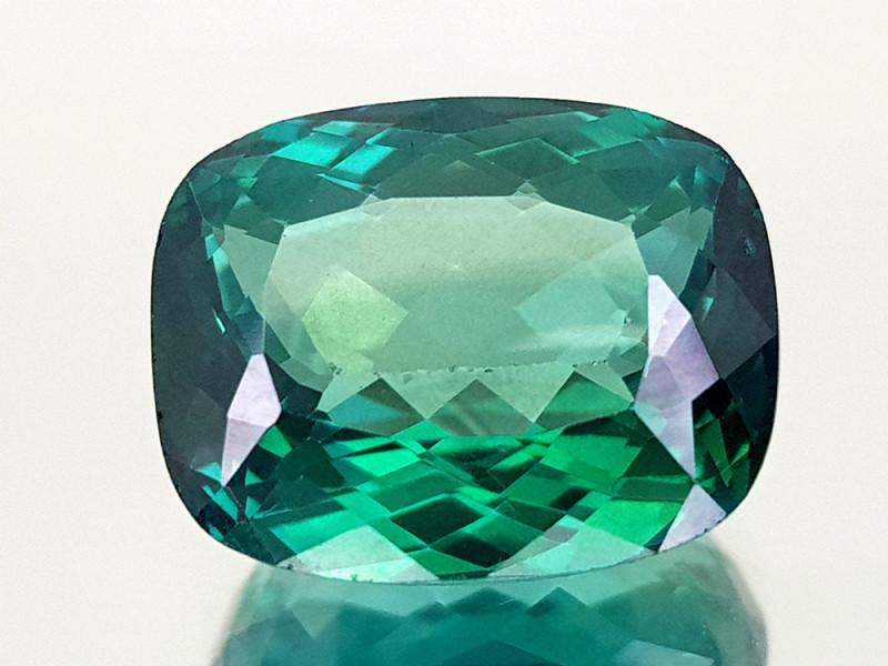 8.65Crt Green Topaz Coated  Natural Gemstones JI28