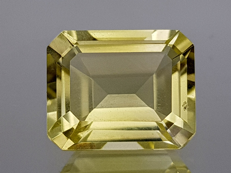 3.32Crt Lemon Quartz Natural Gemstones JI28