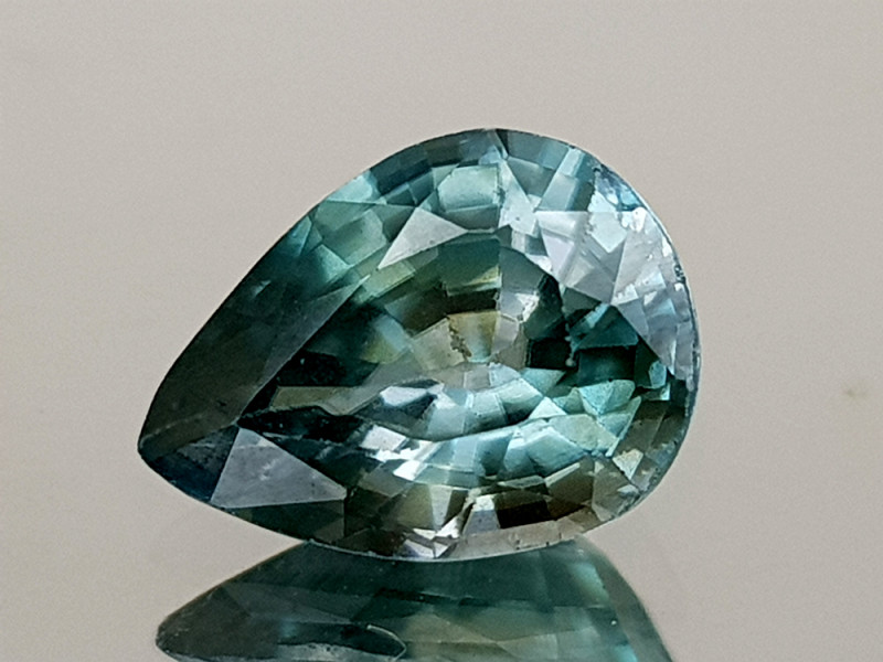 2Crt Blue Zircon Natural Gemstones JI28