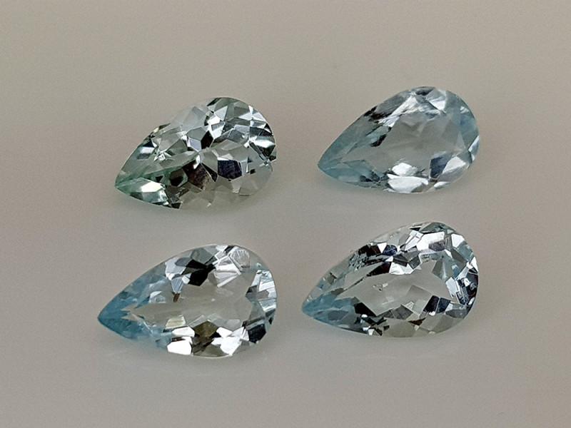 3Crt Aquamarine Natural Gemstones JI28