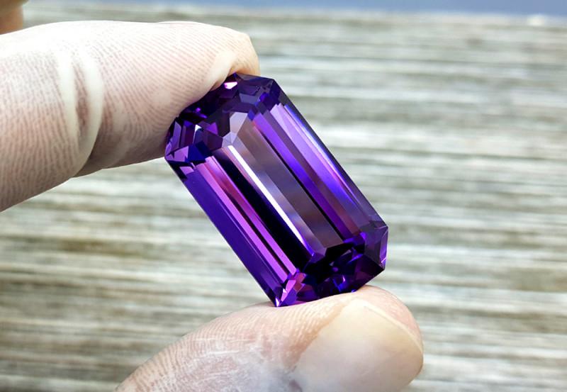 Amethyst, 41.15 Cts Natural Top Color & Cut Amethyst Gemstones
