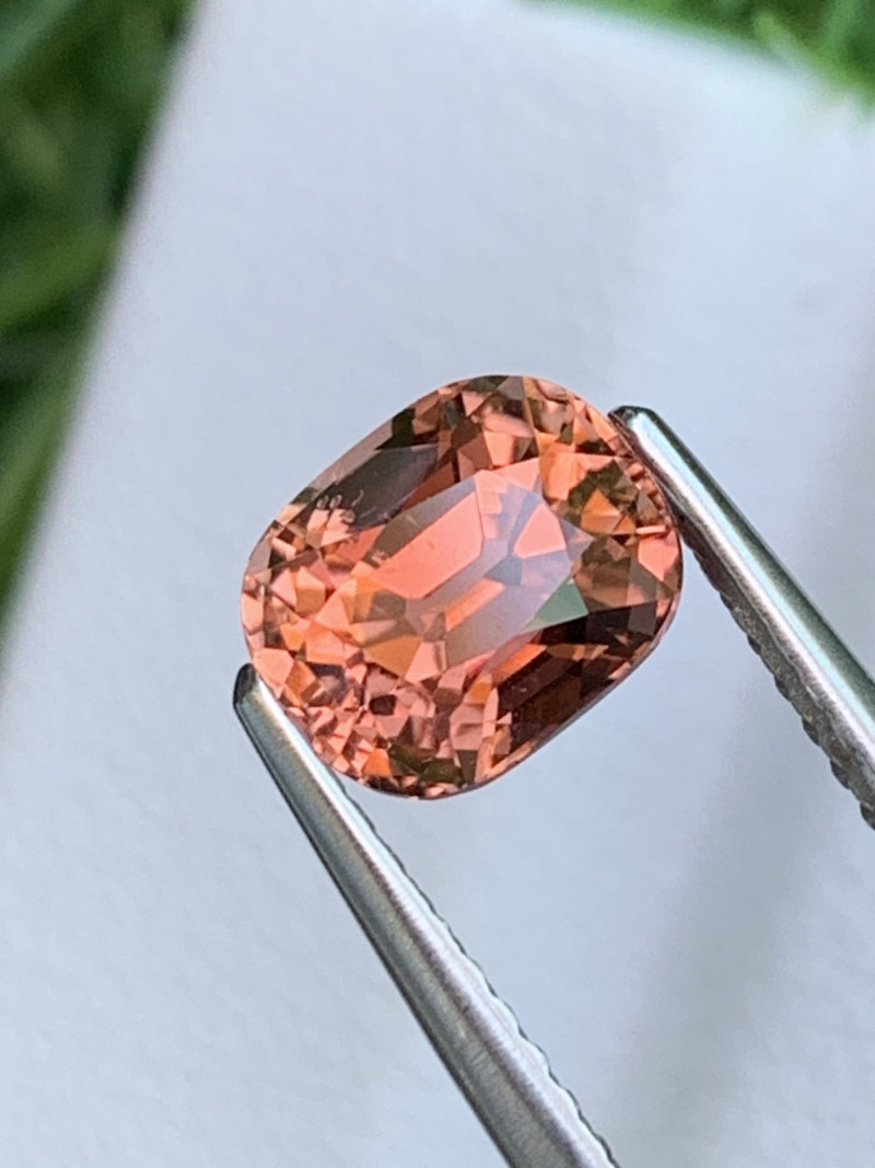 1.50 Cts Master Cut Top Quality Salmon Color Natural Tourmaline