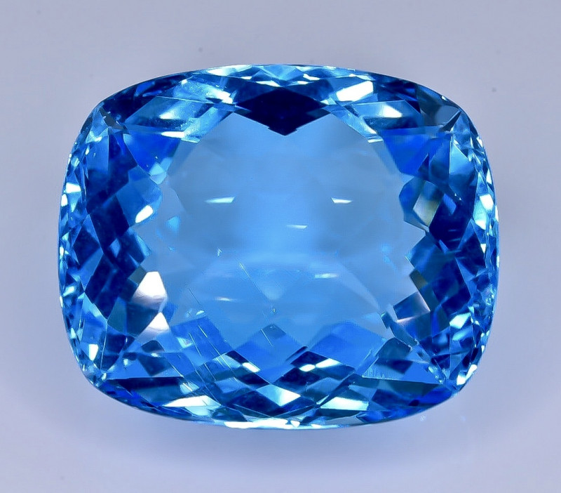 34.35 Crt Topaz  Faceted Gemstone (Rk-21)