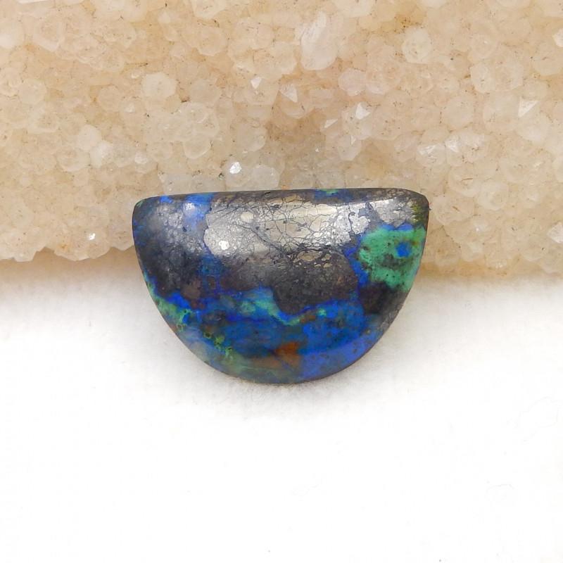 22Cts Natural Chrysocolla Gemstone Cbaochon ,Chrysocolla Gemstone H894