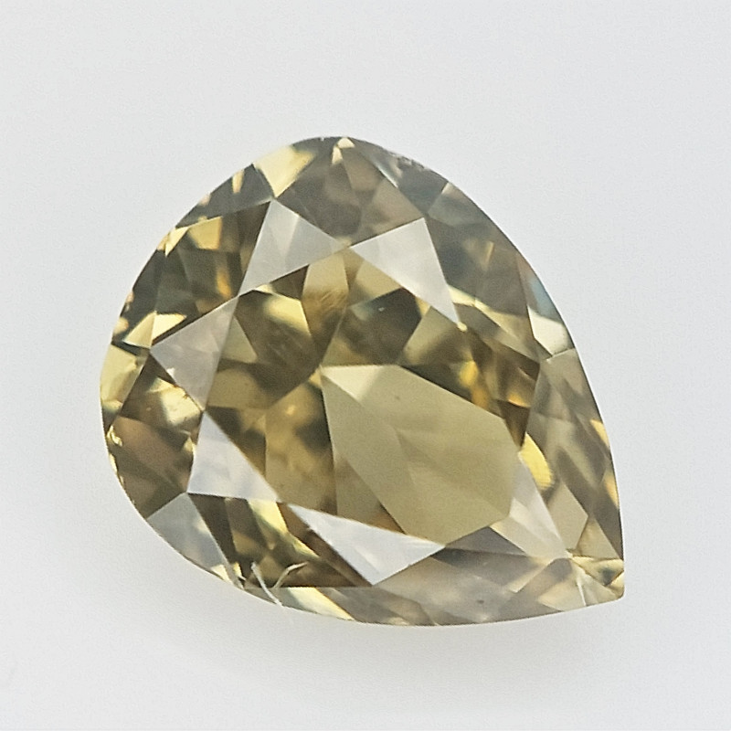 0.11 CTS , Natural Pear Diamond , scintillating Diamond