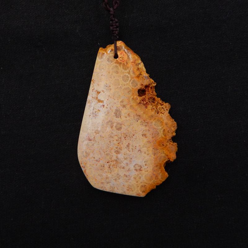 177.5Ct Natural Raw Coral Gemstone Pendant,Beautiful Coral Rough H924