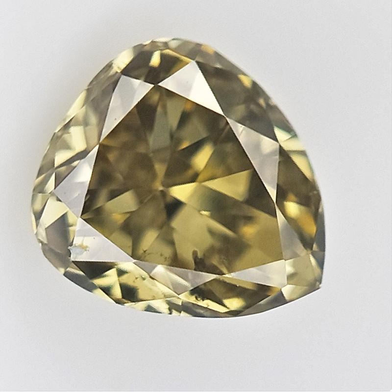 0.10 cts , Pendeloque cut Diamond , Rare Natural Diamond