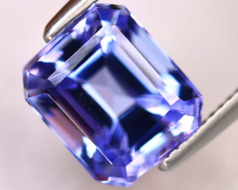 Tanzanite 3.08Ct Natural VVS Purplish Blue Tanzanite ER377/D4