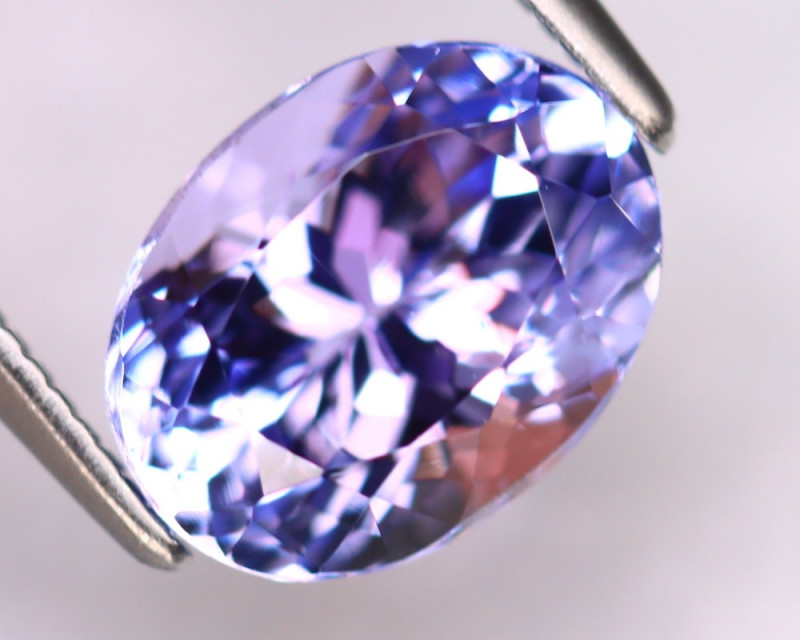 Tanzanite 2.94Ct Natural VVS Purplish Blue Tanzanite ER389/D4
