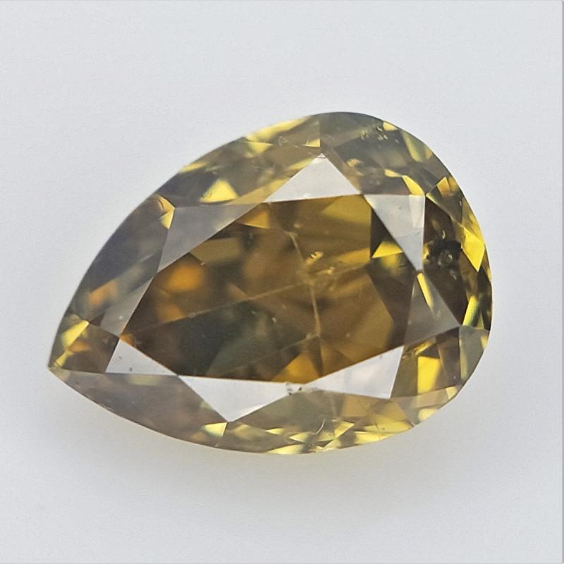 0.11 cts , Pendeloque Shaped Diamond , Loose Diamond
