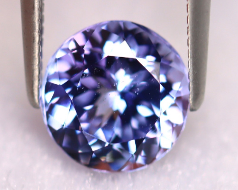 Tanzanite 2.07Ct Natural VVS Purplish Blue Tanzanite ER411/D4