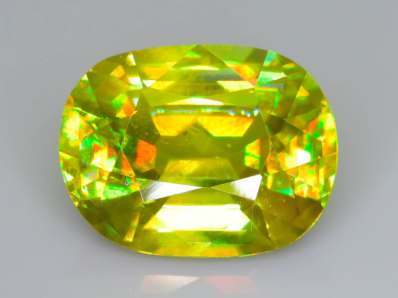 Rare AAA Fire 4.08 ct Sphene Sku-60