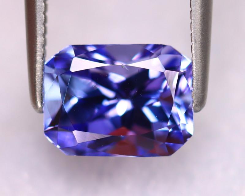 Tanzanite 2.13Ct Natural VVS Purplish Blue Tanzanite DK3006/D4