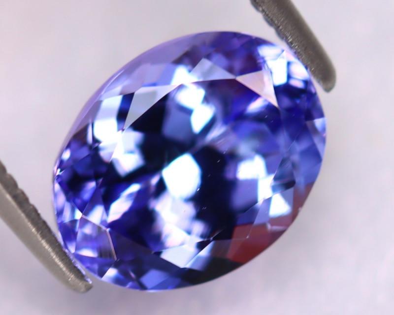 Tanzanite 2.18Ct Natural VVS Purplish Blue Tanzanite DK3013/D4