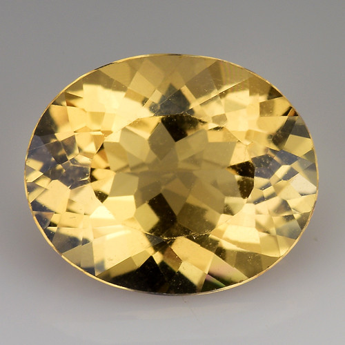 3.19Cts Natural Heliodor Top Quality Gemstone HD18