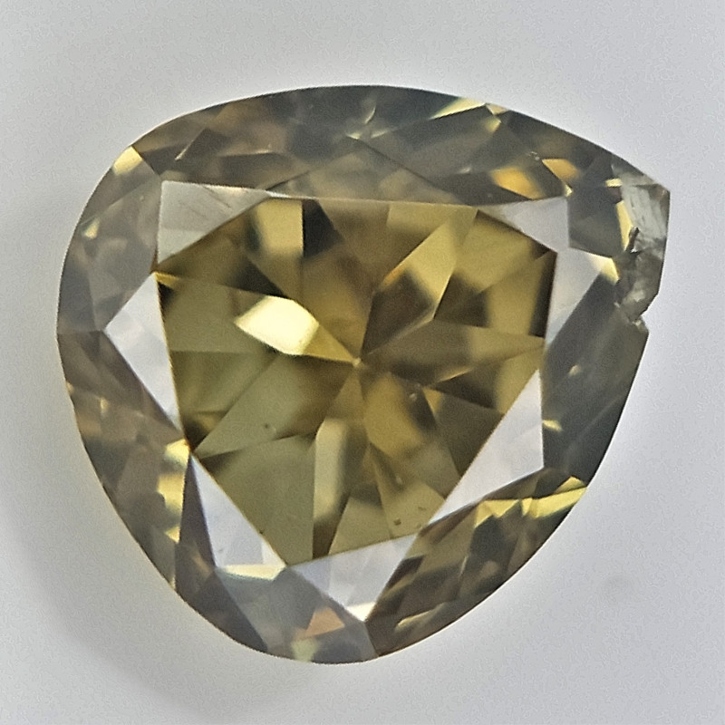 0.10 cts , TearDrop Diamond , Loose Fancy Diamond