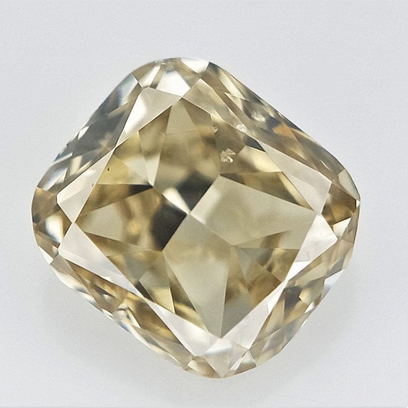 0.11 cts , Cushion Brilliant Cut Diamond, Light Colored DIamond