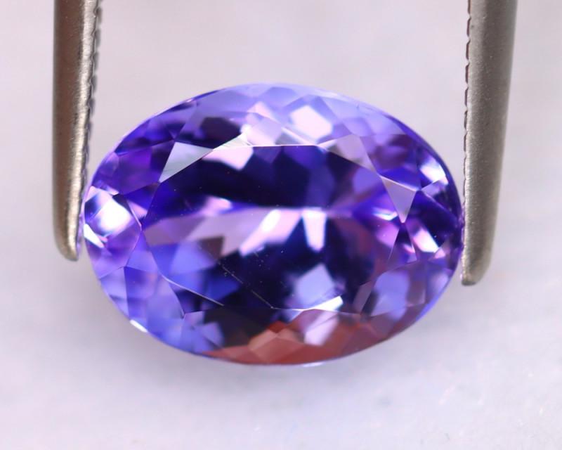 Tanzanite 2.74Ct Natural VVS Purplish Blue Tanzanite DR500/D4